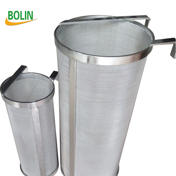 300 micron 304 stainless steel homebrew beer hop spider mesh filter basket <strong>grain</strong> (free sample)