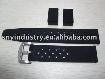 silicone watch strap