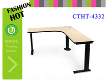 u shaped desk office furniture height adjustable coffee table smooth table top desk