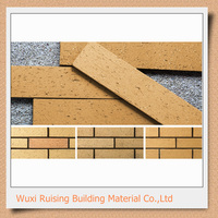 used red clay bricks light weight building material for wholesales exterior and interior wall decoration