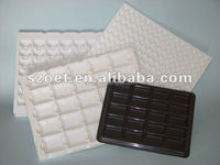 PS/PP/PET material vacuum forming plastic tray with tailor made in size and printing