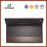 leather tablet case,genuine crocodile leather tablet case for ipad pro,shockproof tablet case