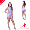 Cocktail party women backless unisex one piece jumpsuit