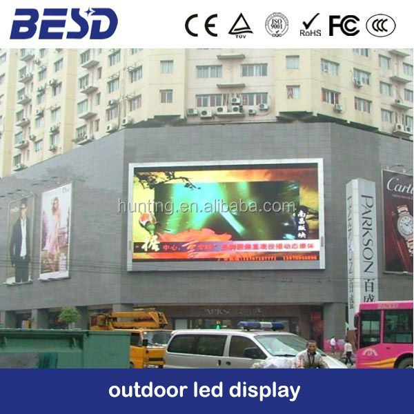 shenzhen LED outdoor DIP p16 full color commerical advertising led panel