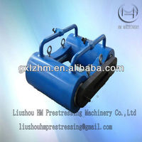 prestressed hydraulic flat anchorage integral tensioning jack