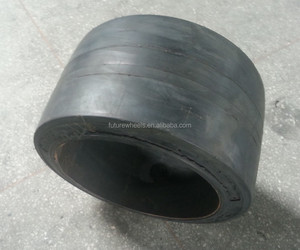 ANYGO brand 40x20x30 (1016x508x762) SM press on solid tire ,Forklift solid tyre/tire ,solid cushion tire XZ11
