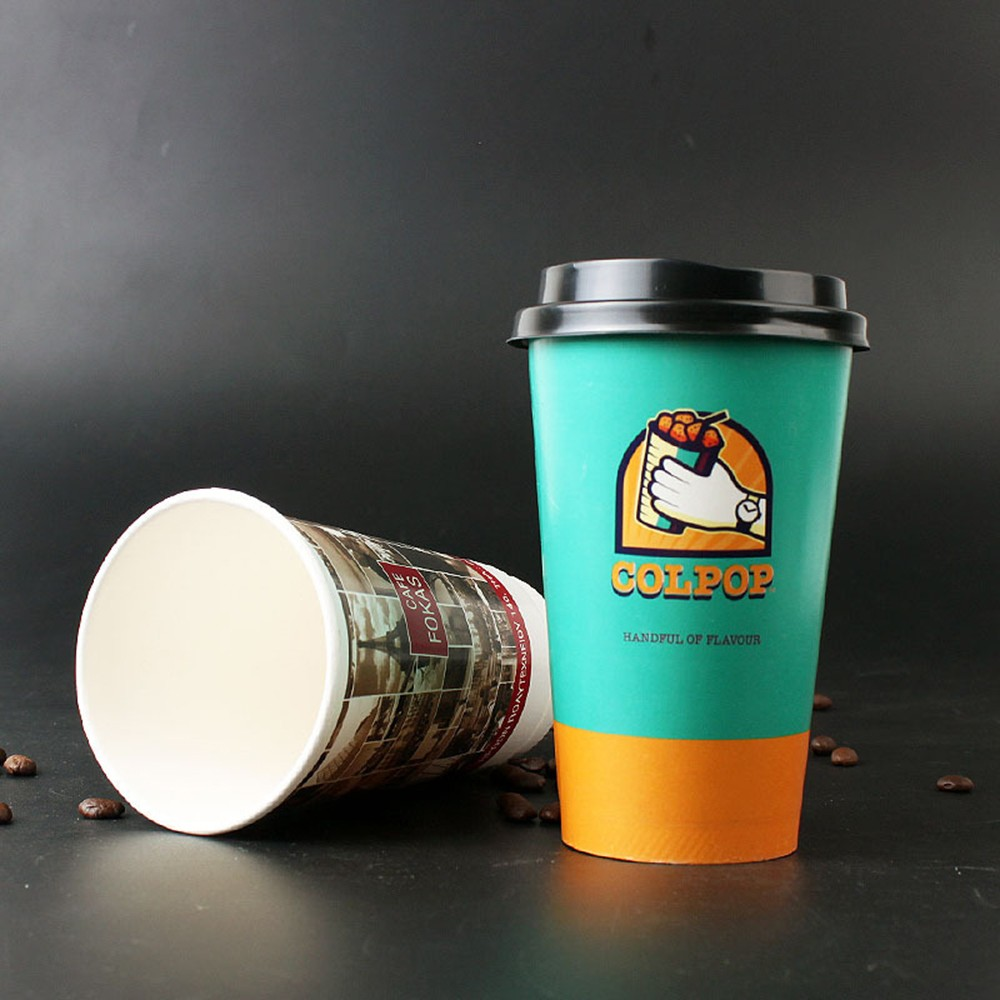 Hot sale paper cups/disposable foam cup/coffee cups customized high quality paper cups with lids