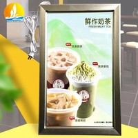 Picture frame led light box Chinese factory supply advertising light box slim light box