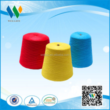 20s/2 ring spun colors 100% polyester sewing yarn