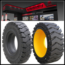 Chinese good price heavy duty truck solid tyres 10.00-20 11.00-20 for mines and steel factory