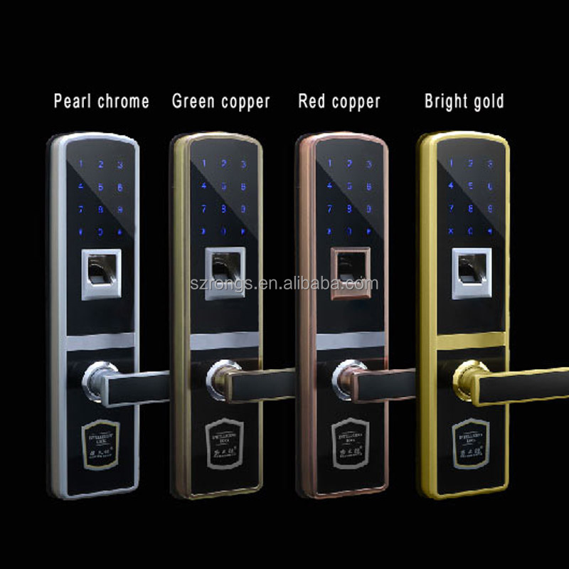 Brand New Fingerprint Door Lock + Mechanical Key+password