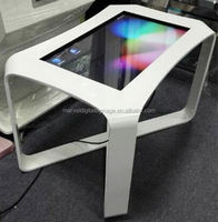 flat waterproof multi points touch screen in many styles interactive rgb bar table