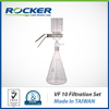 Rocker Scientific VF10 Lab Glass Equipment Vacuum Filtration Set with 40.6 cm2 Effective filtration area