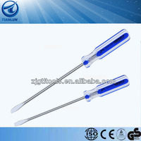 flat screwdriver function with transparent handle