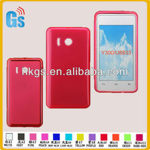 Hot-pink tpu case for huawei y300/u8833