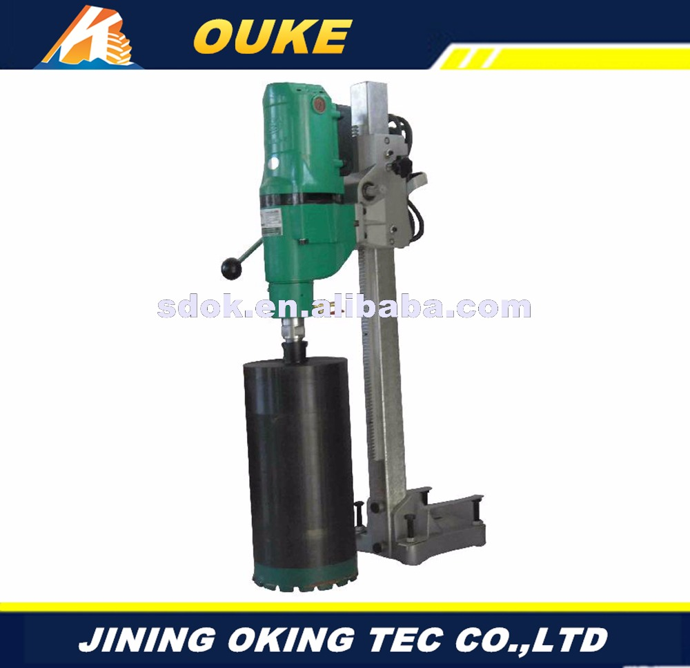 180mm concrete asphalt road core drilling machine for sale