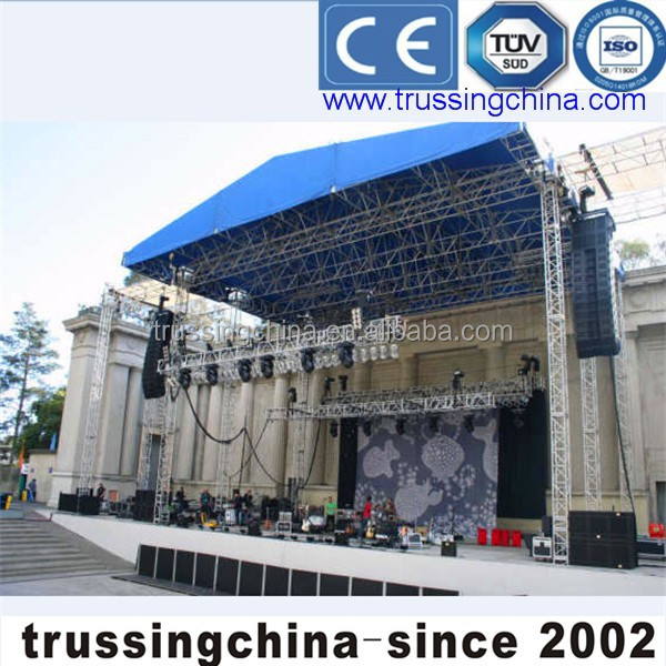 ground support truss, stage lighting truss,aluminium alloy material truss from TRUSSING CHINA