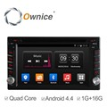 Ownice Quad core android 4.4 Car Electronic navi for 2din universal support TV OBD TPMS