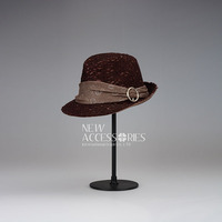 knitted wed cover ladies fedora