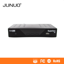 JUNUO High Quality Dvb-s2 Mpeg-4 Fta Hd Stb upgrade software for mini hd dvb s2 super box receiver