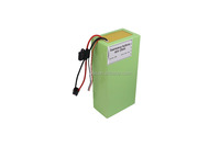 Super power ev li-ion battery 48V 1000W electric scooter batterypack with BMS