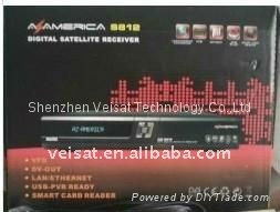 az america s812 receiver for south america