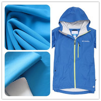 nylon lycra fabric with breathable coated for outdoor jacket
