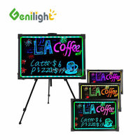 Soft Cloth Wipe 40*60cm Acrylic Board RGB magic LED Writing Board