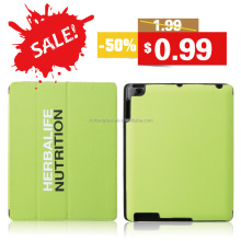 Triple Magnetic Smart Cover PU Leather case Stand Protect Skin Sleeve Solid Color Soft Sleep Wakeup holster For iPad 2 3 4 5