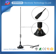 477mhz mobile antenna/Stainless Steel Mangnetic Base with 477Mhz 4.5dbi Uhf CB Whip Antenna