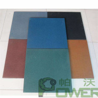 Durable & factory price non toxic recycled high density swimming pool rubber paving tiles