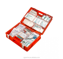 EM56038 PP Home emergency survival kit, ABS first aid kit box with handle