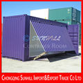 Outdoor convenient operation transformed container house