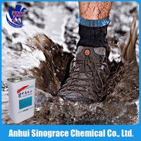 Free sample super hydrophobic polyurea waterproofing coating for clothes PF-300F4