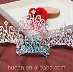 New arrived peacock hairband birthday tiara and <strong>crowns</strong> wholesale for stock