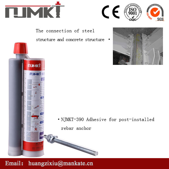 concrete anchor bolt professional supplier injection adhesive for rebar/anchor with low price