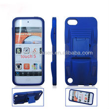 Newest design top quality sports car clip flip hard case cover for ipod touch 5 5th