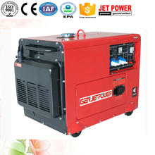 small silent air cooled diesel generator set electric start 5kw 6kw 7kw marine generator