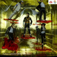 plastic sculpt of Michael Jackson classic pose collection crafts for adult ICTI certified factory