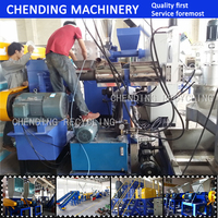 high effective pe pp film granulation line