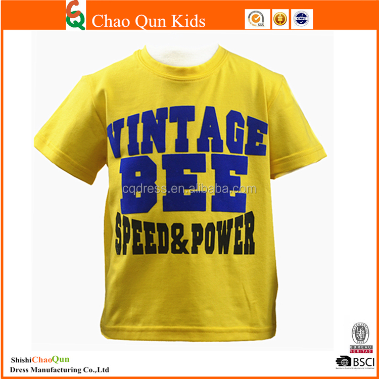 Oem Service Supply Type And Printed T Shirt Baby Clothes