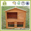 SDR09 2 story rabbit hutch with apex roof