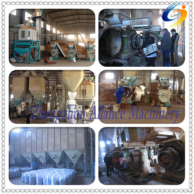 6ookg/h CE approved Ring-die wood pellet making machine well received from overseas customers