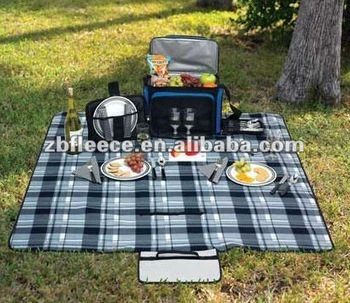 Easy Carry Waterproof USA Size Picnic Blanket