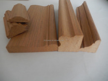 low price high quality engineered carved wood moulding
