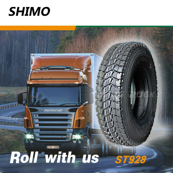 278 mm section width heavy truck parts 10.00r20 tire
