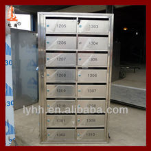 16 Door Commercial Stainless Steel Mailbox,letter box.postbox