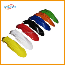 Colourful fender mudguard for pit bike off road motocross dirt bike front fender