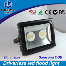 High power super bright dimmable outdoor led flood light-IP66 waterproof led floodlight-led flood light 100w ac cob samsung