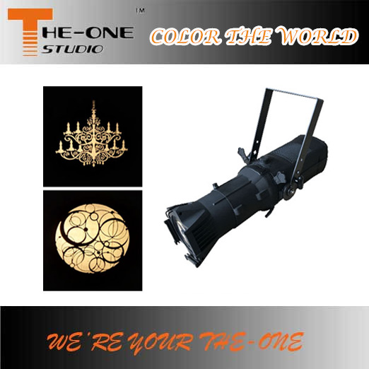 hot sale 200W theater lighting professional studio led ellipsoidal